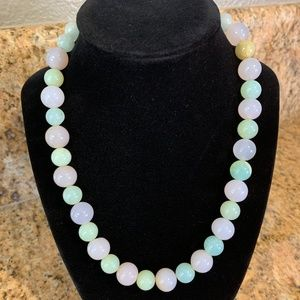 Jewelry - NWT hand-strung gemstone beaded necklace